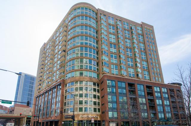600 N Kingsbury Street #1002, Chicago, IL 60654 (MLS #09994747) :: The Perotti Group