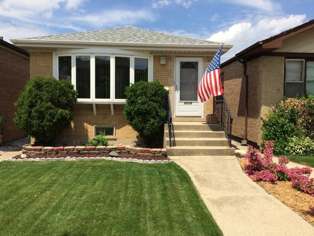 6516 W 63rd Street, Chicago, IL 60638 (MLS #09995062) :: Ani Real Estate