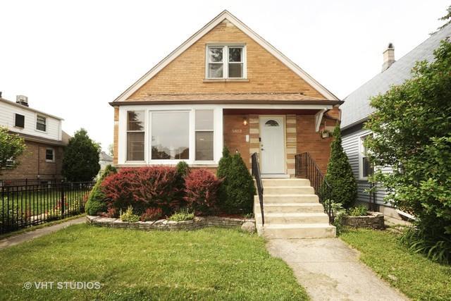 5812 W Warwick Avenue, Chicago, IL 60634 (MLS #09996134) :: The Dena Furlow Team - Keller Williams Realty