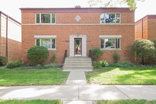 423 Edgewood Place #2, River Forest, IL 60305 (MLS #10001958) :: Lewke Partners