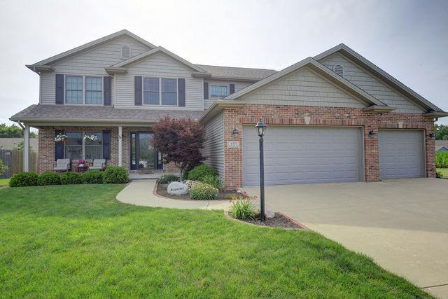 405 Reagan Drive, ST. JOSEPH, IL 61873 (MLS #10002418) :: Ryan Dallas Real Estate