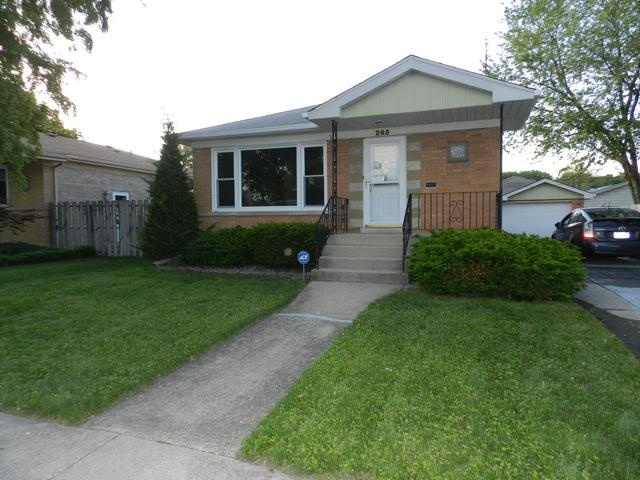 265 Park Terrace, South Chicago Heights, IL 60411 (MLS #10007273) :: The Spaniak Team