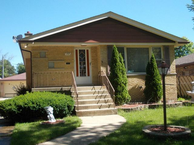 183 W 27th Place, South Chicago Heights, IL 60411 (MLS #10009525) :: The Spaniak Team