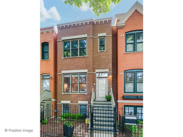 1854 N Wilmot Avenue, Chicago, IL 60647 (MLS #10011432) :: Leigh Marcus | @properties