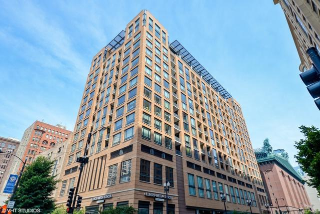 520 S State Street #1210, Chicago, IL 60605 (MLS #10013679) :: Domain Realty