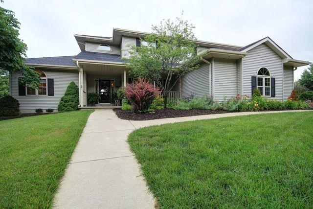 701 Kimela Drive, Mahomet, IL 61853 (MLS #10017813) :: Ryan Dallas Real Estate