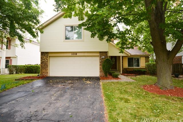 109 Horatio Boulevard, Buffalo Grove, IL 60089 (MLS #10020316) :: Helen Oliveri Real Estate