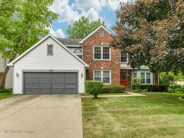 305 Hill Court E, Buffalo Grove, IL 60089 (MLS #10021991) :: Helen Oliveri Real Estate