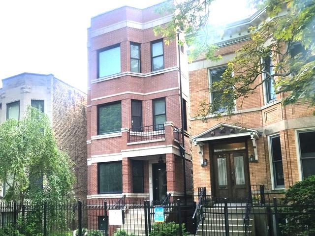 2627 N Washtenaw Avenue #1, Chicago, IL 60647 (MLS #10025526) :: The Perotti Group