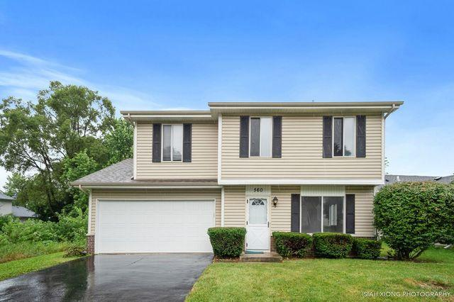 560 Springhill Circle, Naperville, IL 60563 (MLS #10026489) :: The Dena Furlow Team - Keller Williams Realty