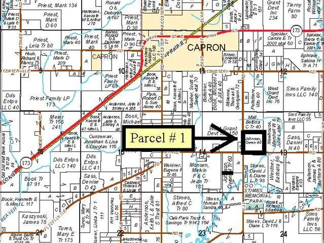 Parcel 1 Mill And Wange Road, Capron, IL 61011 (MLS #10033468) :: The Jacobs Group