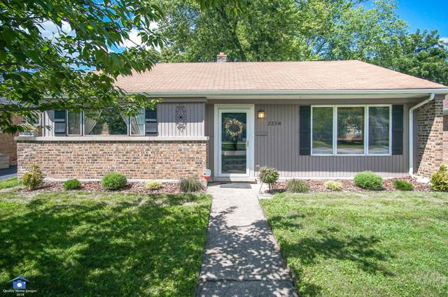 2258 Spruce Road, Homewood, IL 60430 (MLS #10035216) :: The Wexler Group at Keller Williams Preferred Realty