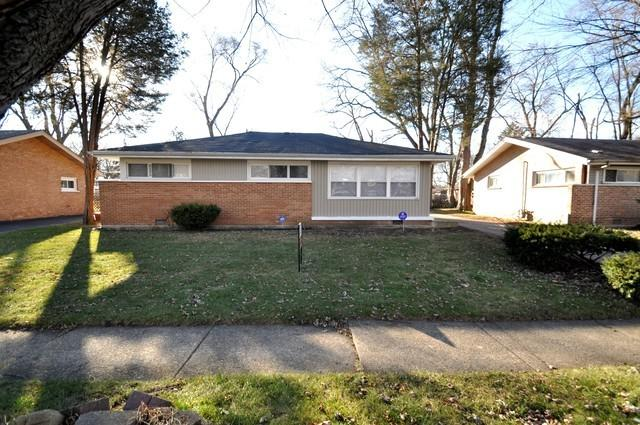 3109 Sussex Avenue, Markham, IL 60428 (MLS #10037071) :: Domain Realty