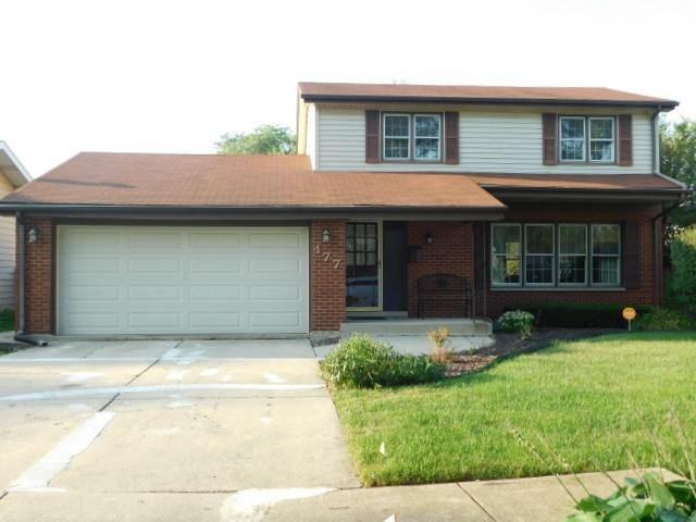 477 Gregory Drive, Chicago Heights, IL 60411 (MLS #10048334) :: Littlefield Group