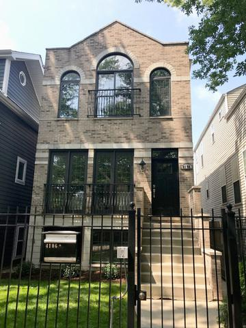 4106 N St Louis Avenue, Chicago, IL 60618 (MLS #10048442) :: Domain Realty