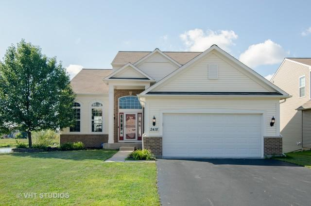 2418 Woodside Drive, Carpentersville, IL 60110 (MLS #10048465) :: Lewke Partners