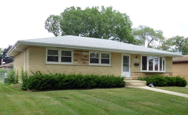 642 W Willow Glen, Addison, IL 60101 (MLS #10049579) :: Domain Realty