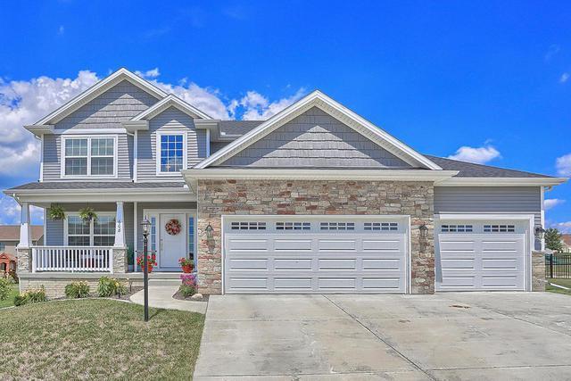 608 E Country Ridge Drive, Mahomet, IL 61853 (MLS #10049838) :: Littlefield Group