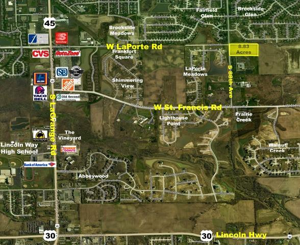 0 S 88th Ave & Laporte Road, Frankfort, IL 60423 (MLS #10050139) :: Domain Realty
