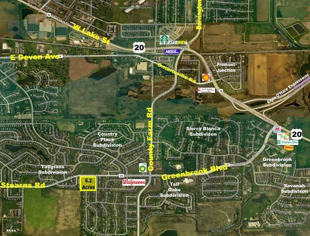 0 SW Stearns Road & Redford Lane, Hanover Park, IL 60133 (MLS #10050147) :: Domain Realty