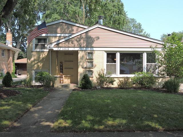 10513 S Kolin Avenue, Oak Lawn, IL 60453 (MLS #10050160) :: Littlefield Group