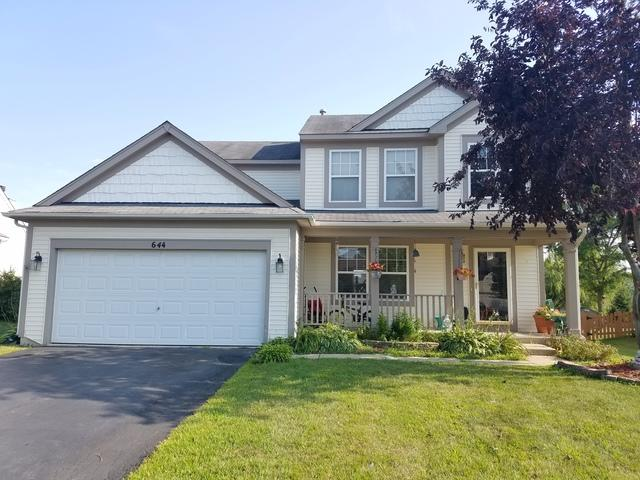 644 Hamilton Lane, North Aurora, IL 60542 (MLS #10050733) :: Domain Realty