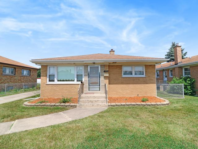 175 W 28th Place, South Chicago Heights, IL 60411 (MLS #10050931) :: The Dena Furlow Team - Keller Williams Realty