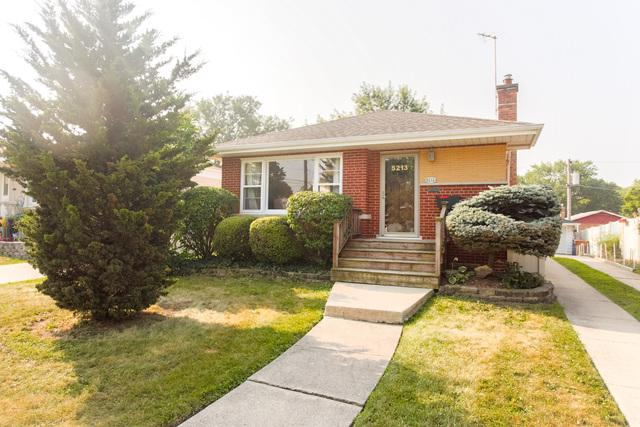 5213 W 99th Street, Oak Lawn, IL 60453 (MLS #10052931) :: The Wexler Group at Keller Williams Preferred Realty