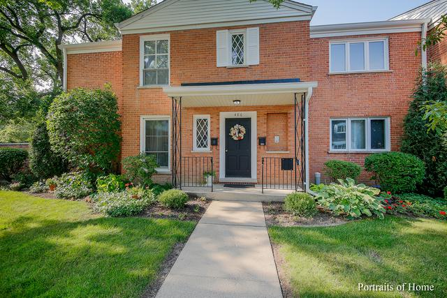 486 Old Surrey Road B, Hinsdale, IL 60521 (MLS #10053021) :: The Wexler Group at Keller Williams Preferred Realty