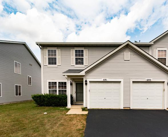 691 Zachary Drive, Romeoville, IL 60446 (MLS #10053550) :: The Jacobs Group