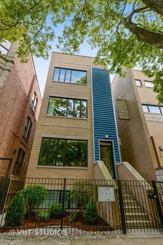 1425 N Leavitt Street #1, Chicago, IL 60622 (MLS #10053642) :: The Perotti Group