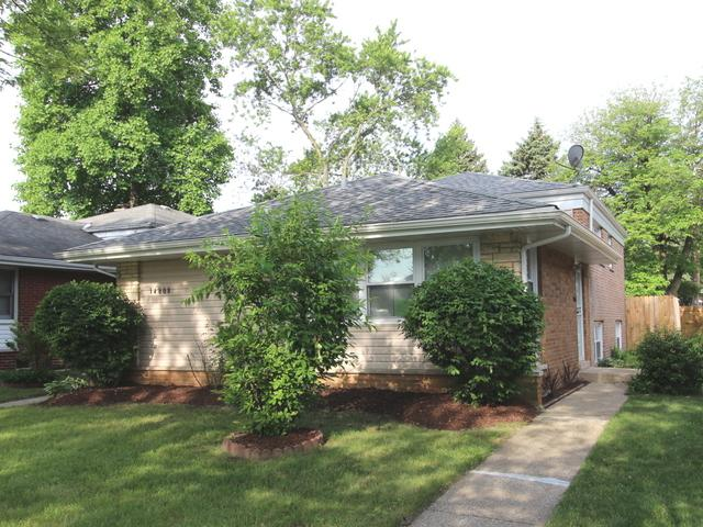 14808 Kenwood Avenue, Dolton, IL 60419 (MLS #10053961) :: The Jacobs Group