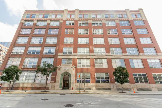 333 S Des Plaines Street #315, Chicago, IL 60661 (MLS #10054385) :: The Saladino Sells Team