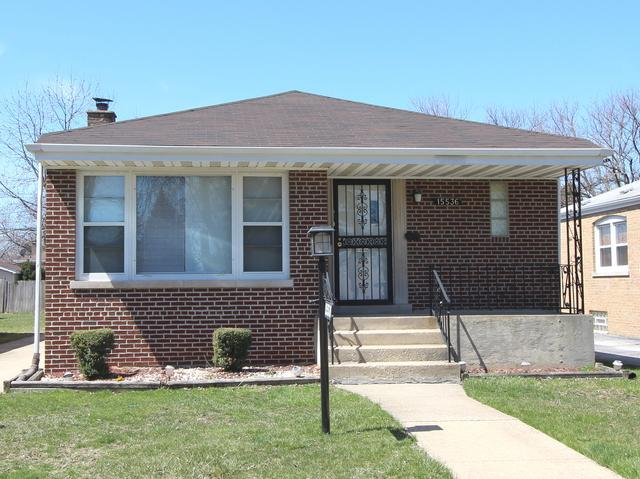 15536 Drexel Avenue, Dolton, IL 60419 (MLS #10054623) :: The Jacobs Group
