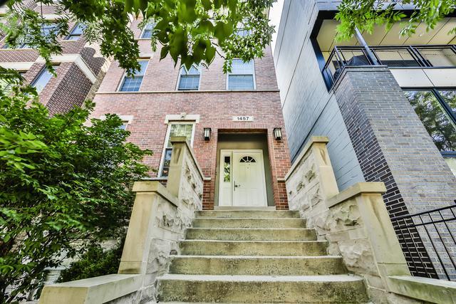 1457 W Fry Street #1, Chicago, IL 60642 (MLS #10055827) :: Littlefield Group