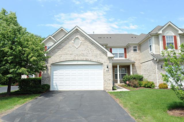 508 Fontenay Way, Palatine, IL 60067 (MLS #10056892) :: The Schwabe Group