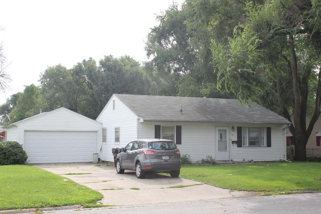 101 Arcadia Drive, Rantoul, IL 61866 (MLS #10057250) :: The Jacobs Group