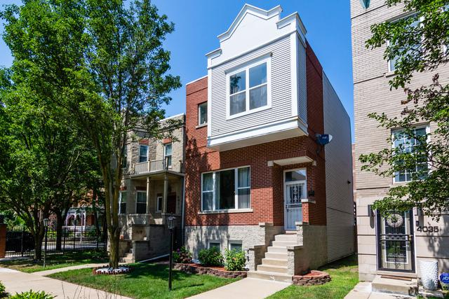 4033 S Ellis Avenue, Chicago, IL 60653 (MLS #10057304) :: The Jacobs Group
