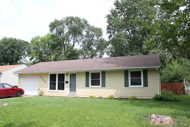 1133 Englewood Drive, Rantoul, IL 61866 (MLS #10057682) :: The Jacobs Group