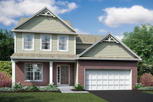 26543 W Winding Oak  Lot#581 Trail, Channahon, IL 60410 (MLS #10063136) :: Lewke Partners