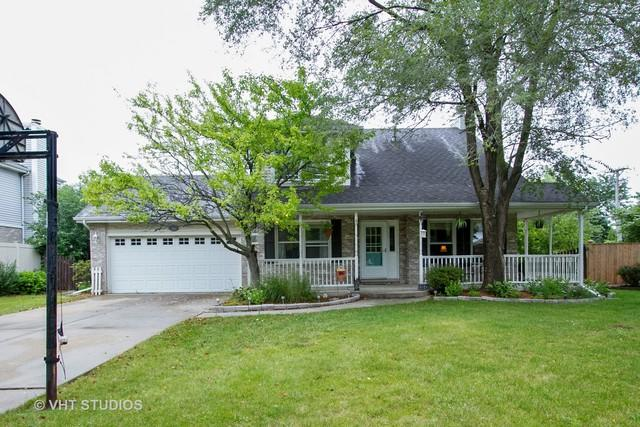 16643 Hunter Trail, Tinley Park, IL 60477 (MLS #10064348) :: The Saladino Sells Team