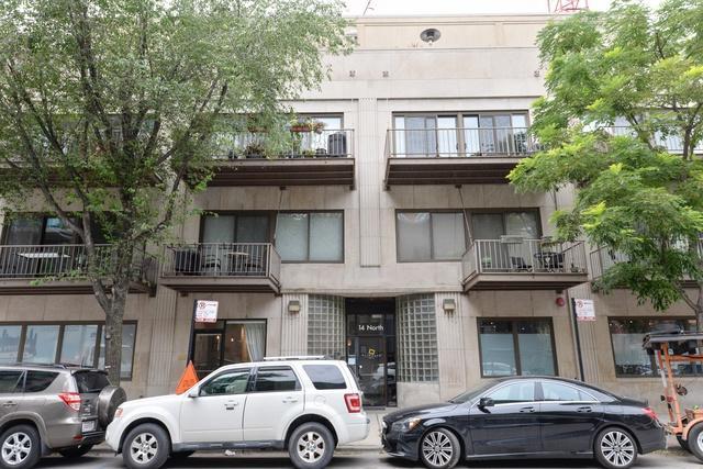 14 N Sangamon Street #206, Chicago, IL 60607 (MLS #10071527) :: John Lyons Real Estate