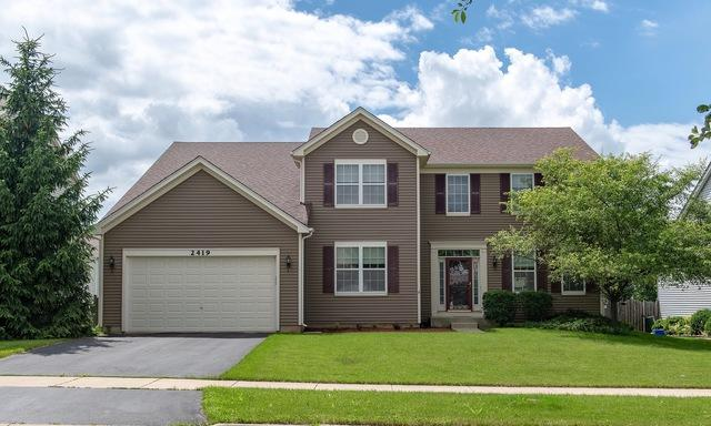 2419 Bluewater Drive, Wauconda, IL 60084 (MLS #10082156) :: The Jacobs Group