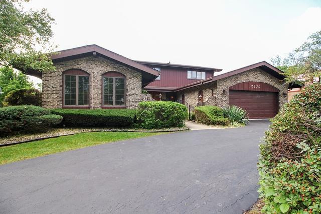 2936 Kathleen Lane, Flossmoor, IL 60422 (MLS #10083964) :: The Dena Furlow Team - Keller Williams Realty