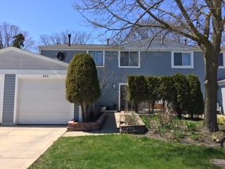 865 Oxford Place #865, Wheeling, IL 60090 (MLS #10086117) :: Helen Oliveri Real Estate