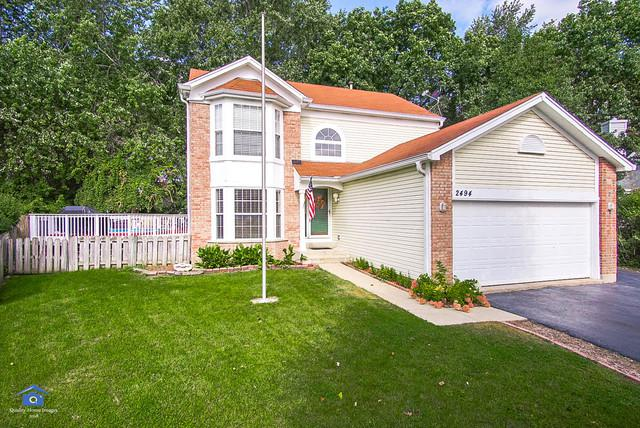 2494 N Old Pond Lane, Round Lake Beach, IL 60073 (MLS #10086194) :: The Perotti Group
