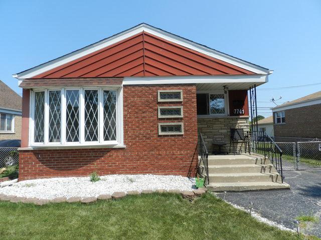7741 S Komensky Avenue, Chicago, IL 60652 (MLS #10086740) :: Lewke Partners
