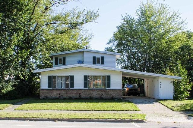 493 Shabbona Drive, Park Forest, IL 60466 (MLS #10087128) :: Lewke Partners