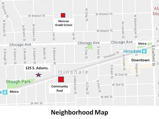 125 S Adams Street, Hinsdale, IL 60521 (MLS #10088913) :: The Saladino Sells Team