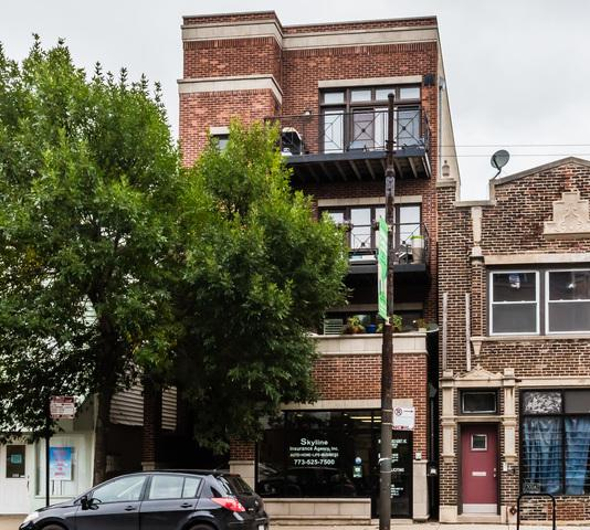 2302 W Belmont Avenue #2, Chicago, IL 60618 (MLS #10088966) :: Leigh Marcus   @properties
